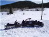 Search and rescue snowmobiles